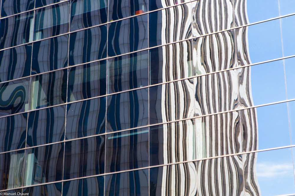 Reflection, Torre Picasso. Madrid