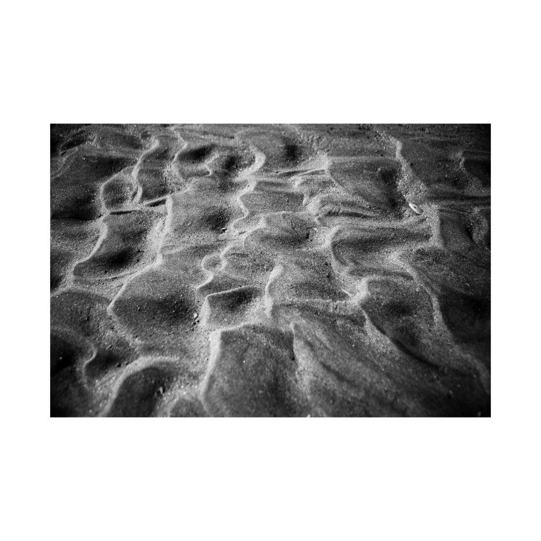 Shapes on the sand