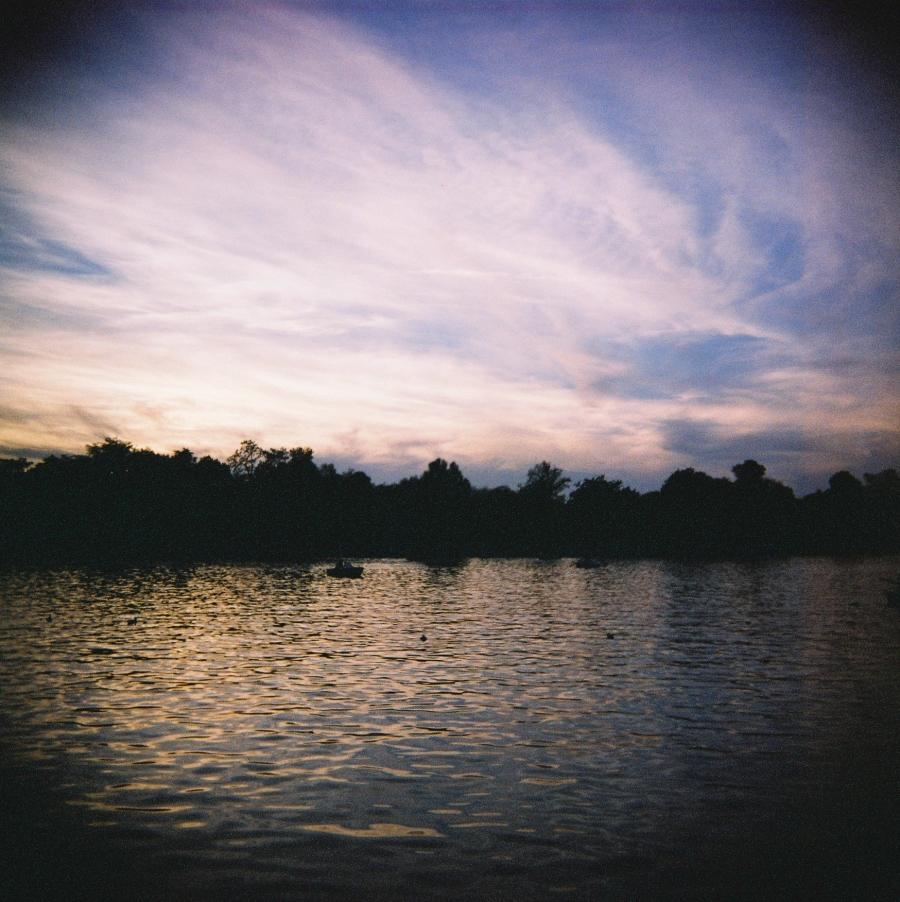 Retiro Park through my Diana