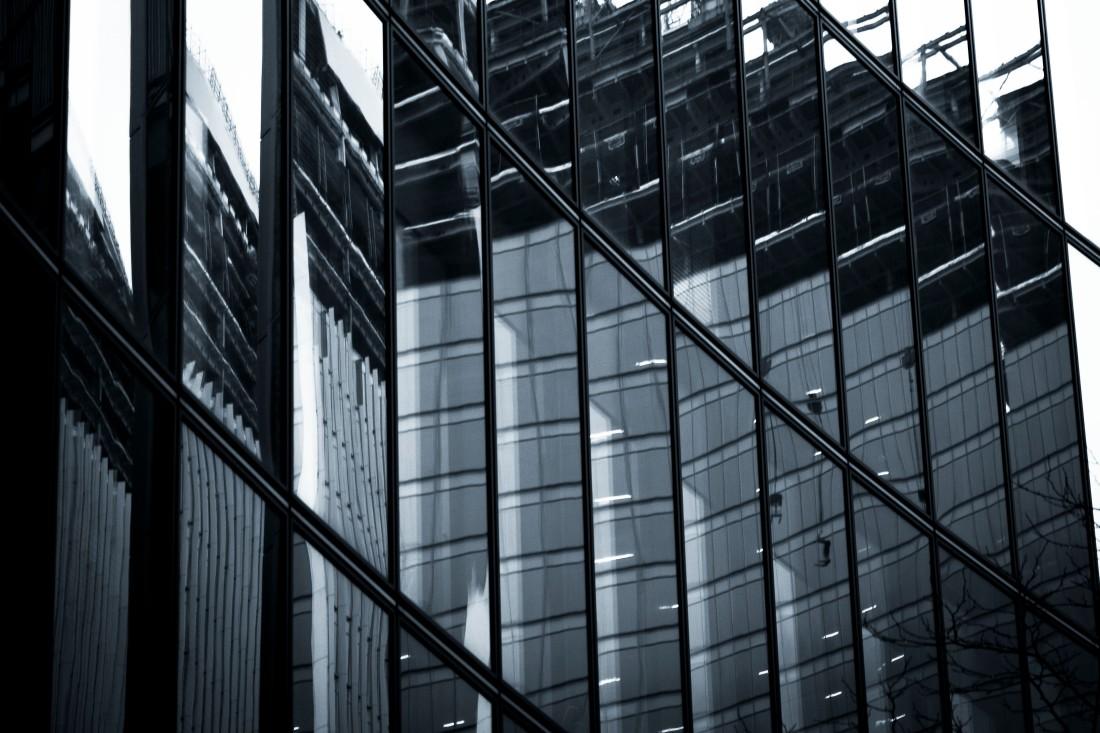 Cubist building. London