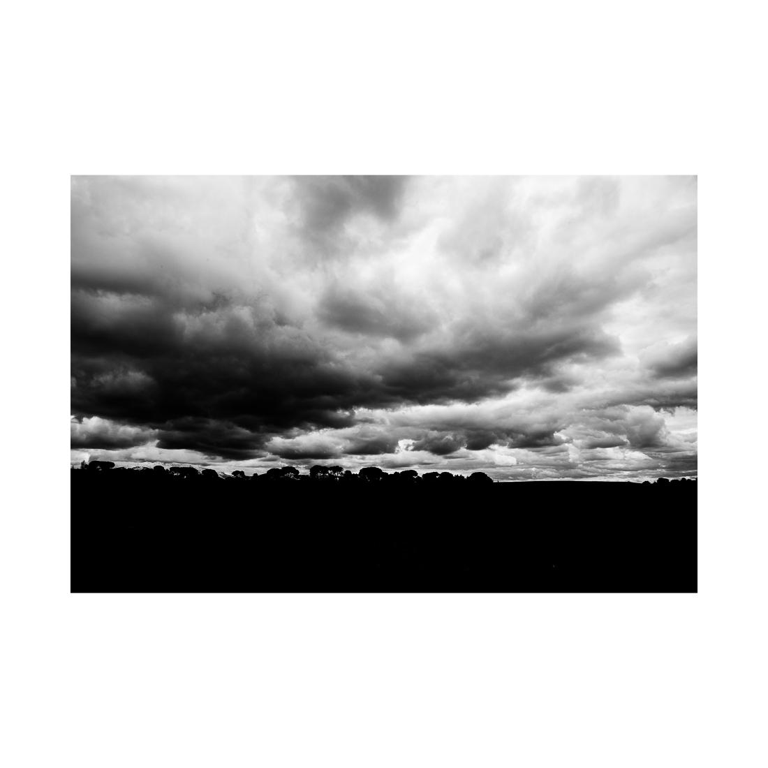 Cloudy sky (X). Segovia, Spain